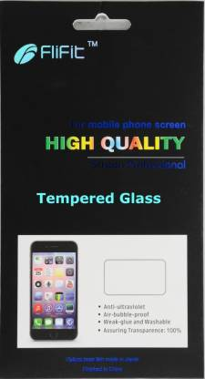FliFit Tempered Glass Guard for Moto E (2nd Gen 3G&4G)