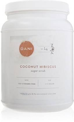 DANI Naturals Sugar Scrub Coconut Hibiscus Scrub