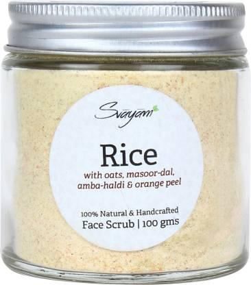 Svayam Natural Rice  Scrub