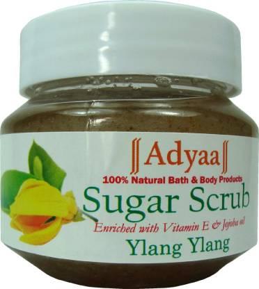 Adyaa Naturals Ylang Sugar Scrub