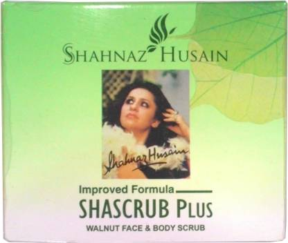 Shahnaz Husain Shascrub Plus Walnut Face & Body  Scrub