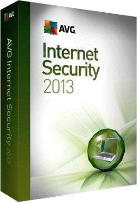 AVG Internet Security 2013 1 PC 1 Year