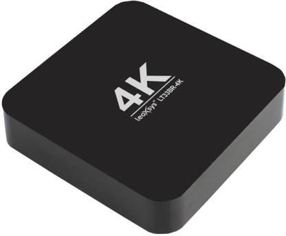 LeoXsys LT33BR-4K Android MINI PC Smart TV Box WiFi Media Streaming Device
