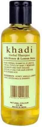 Khadi Herbal Honey & Lemon Juice shampoo