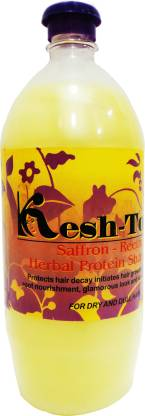 Kesh Tone Saffron-Reetha Herbal Protein Shampoo