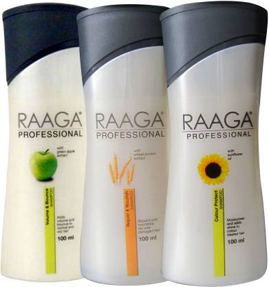 RAAGA PROFESSIONAL Green Apple Sun Flower Wheat Protein