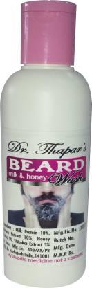 Dr. Thapar's Beard Wash with Milk & Honey