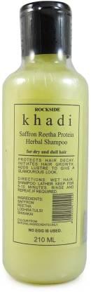 Rockside Khadi Saffron Reetha Protein Herbal Shampoo
