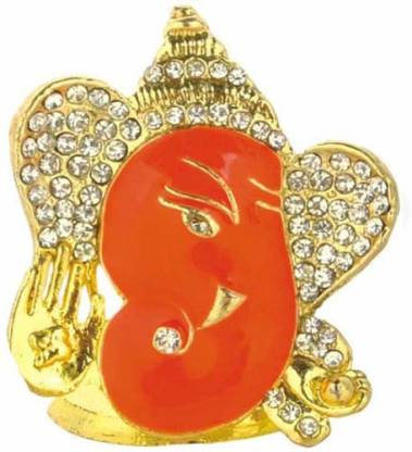Ghasitaram Gifts Ganesha Idols -LM 2001 3 Car Stand Decorative Showpiece  -  4 cm