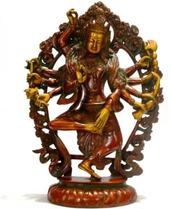 Collectible India Tibetan Buddha Statue - Padmapani Figurine - LORD OF THE WORLD Decorative Showpiece  -  33 cm