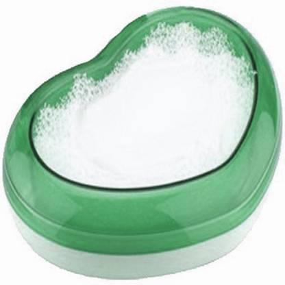 Blossoms Aerobic Soap Case - Green