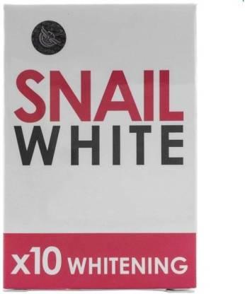 Gluta Snail White Skin Whitening, Lightening Soap