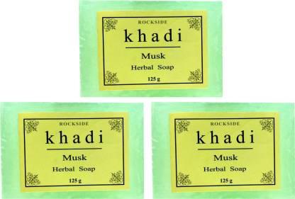Rockside Khadi Musk Herbal Soap