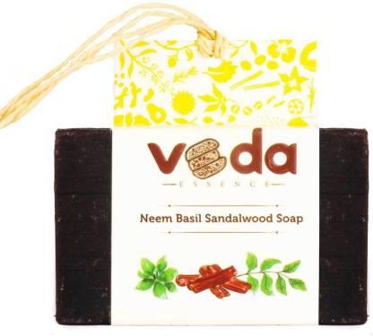 VEda ESSENCE Neem Basil Sandalwood Soap