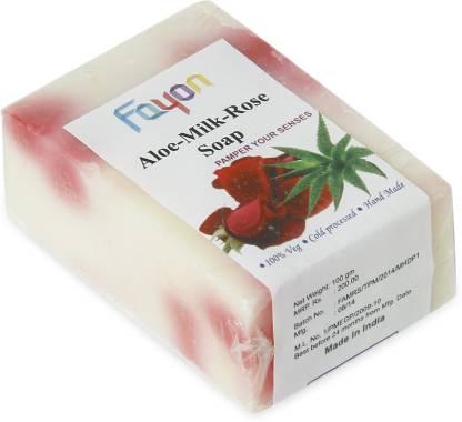 Fayon Aloe-Milk-Rose Soap