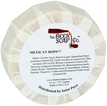 The Beer Soap Co. Dos Equis Mexicano Beer Soap