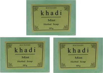 Rockside Khadi Mint Herbal Soap