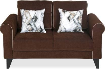 @Home by nilkamal Shelby Fabric 2 Seater  Sofa