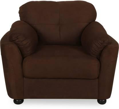 @Home by nilkamal Hawaii Fabric 1 Seater  Sofa
