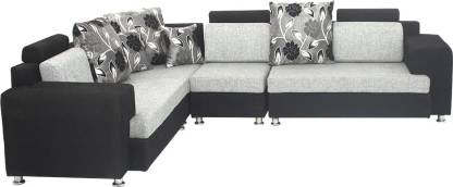 Bharat Lifestyle Feel Good Fabric 4 Seater  Sofa