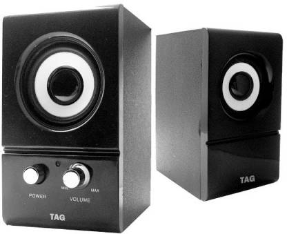 TAG Tag-300 A.C. 3 W Laptop/Desktop Speaker