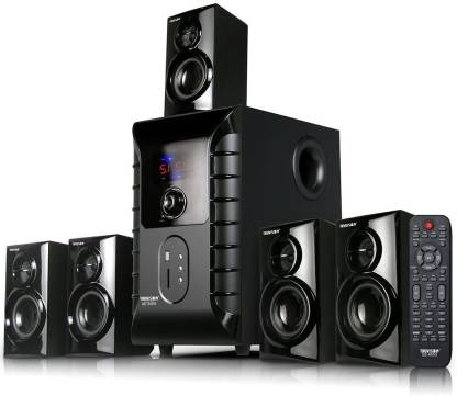 TRUVISON SE-6055 Multimedia System USB FM MMC Playback Support Feature Superior Sound Clarity Home Theatre