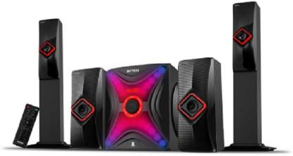 Intex IT  Star 14000 SUF Black 172 W Portable Bluetooth Home Theatre   Black, 2.1 Channel  Intex Speakers
