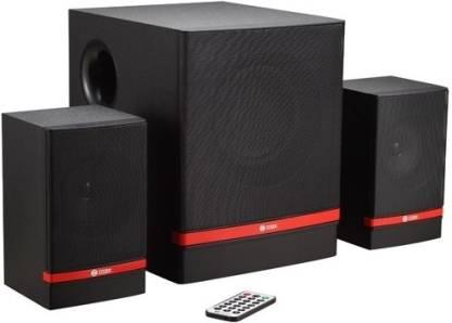 Zoook ZM-SP4400 (FM/SD/USB) 12 W Portable Laptop/Desktop Speaker