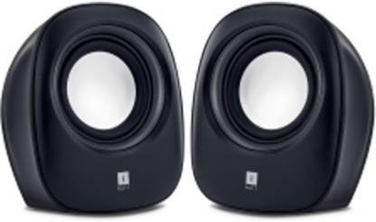 Iball SoundWave 2 Multimedia 2.0  Black 4 W Portable Laptop/Desktop Speaker