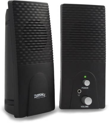Zebronics ZEB S310 Club 30 W Portable Laptop/Desktop Speaker Black, 2.0 Channel