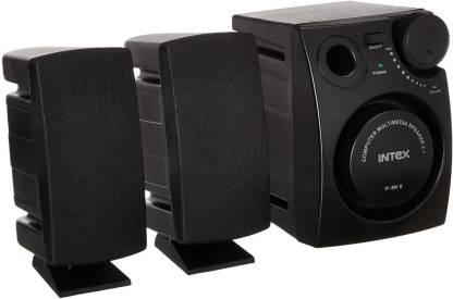 Intex IT 881S Multimedia 16 W Laptop/Desktop Speaker Black, 2.1 Channel