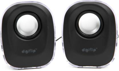 DigiFlip PS013 Wired Mini USB Speaker