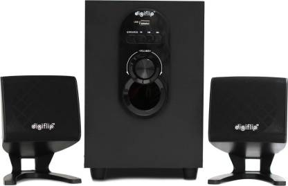 DigiFlip 2.1 Channel 10W PS043 Speaker (with Remote Control, USB Support)