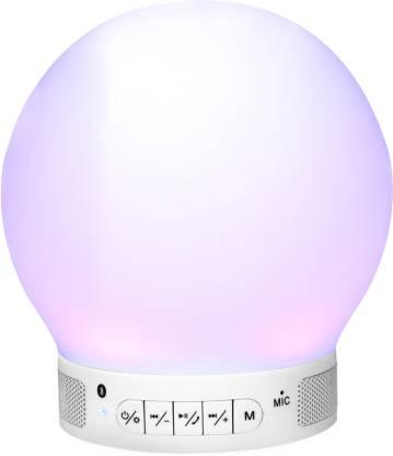 Zoook Smart Multi-Color Lamp Eureka-W 3 W Portable Bluetooth Speaker