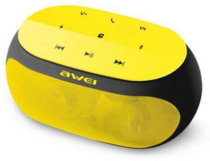 HITECHCART AWEI Y201 with HD Sound Quality High Bass & Mic Portable 5 W Portable Bluetooth Speaker