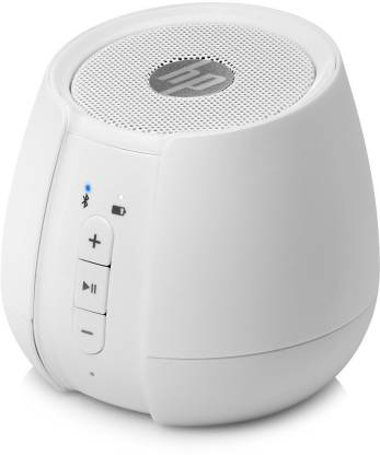 HP S6500 Portable Bluetooth Speaker   White, Mono Channel  HP Speakers