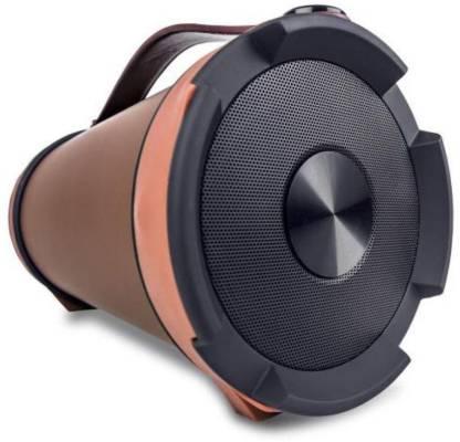 Iball Music Barrel BT31 With FM Radio 9 W Portable Bluetooth Speaker Orange, Mono Channel  Iball Speakers
