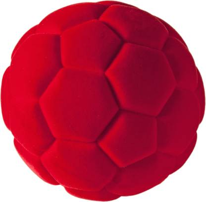 Rubbabu Soccer Ball Red  - 3.94 inch