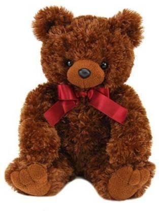 "PurrFection Purrfection Bailey Brown Bear 15"" Plush"