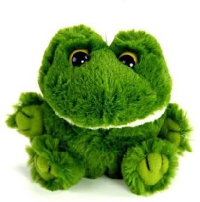 "PurrFection Purrfection Bud Cushy Critter Frog 5"" Plush"