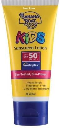 Banana Boat Kids Sunscreen Lotion - SPF 50+ PA+++