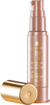 Lakmé 9 to 5 Hydrating Super Sunscreen Lotion - SPF 50 PA+++