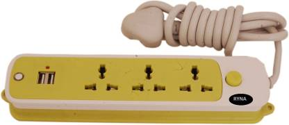 Ryna Extension Cord_2 5  Socket Extension Boards