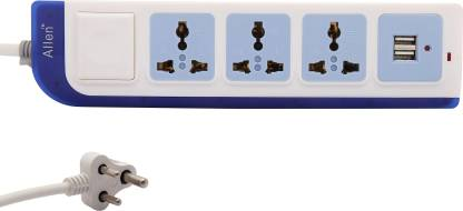 ALLEN Surge Protector 3  Socket Extension Boards