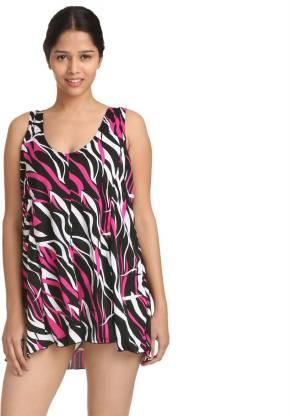 Fascinating Fashion Striped Women Swimsuit