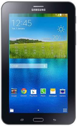 SAMSUNG Galaxy Tab 3 V T116 Single Sim Tablet 1 GB RAM 8 GB ROM 7 inch with Wi-Fi+3G Tablet (EBONY BLACK)