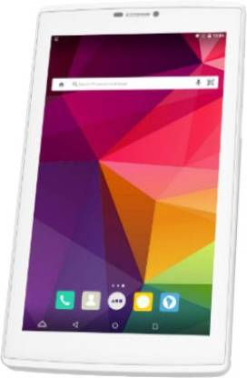 Micromax Canvas Tab P702 2 GB RAM 16 GB ROM 7 inch with Wi-Fi+4G Tablet (White)