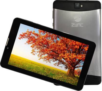 Zync Z900 1 GB RAM 8 GB ROM 7 inch with Wi-Fi+3G Tablet (Silver Metal)