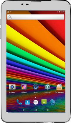 I Kall N3 In-built Speaker Tablet with Cover 1 GB RAM 8 GB ROM 7 inch with Wi-Fi+3G Tablet (White)