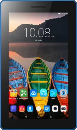 Lenovo TAB3 7 Essential 1 GB RAM 8 GB ROM 7 inch with Wi-Fi+3G Tablet (Ebony Black)